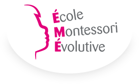 Logo de l'école montessori évolutive